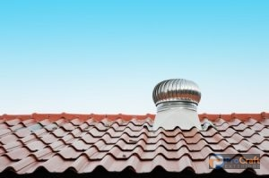 Metal Roofing System with Vent