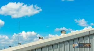 Aluminum Roofing System with Fans