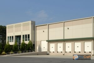 Industrial Warehouse and Loading Docks